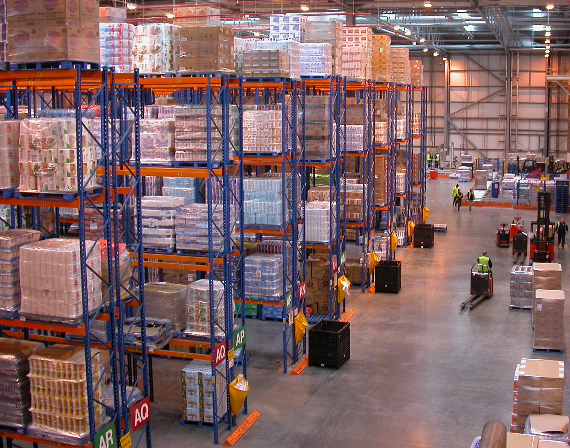 Warehouse with Pallet Racking
